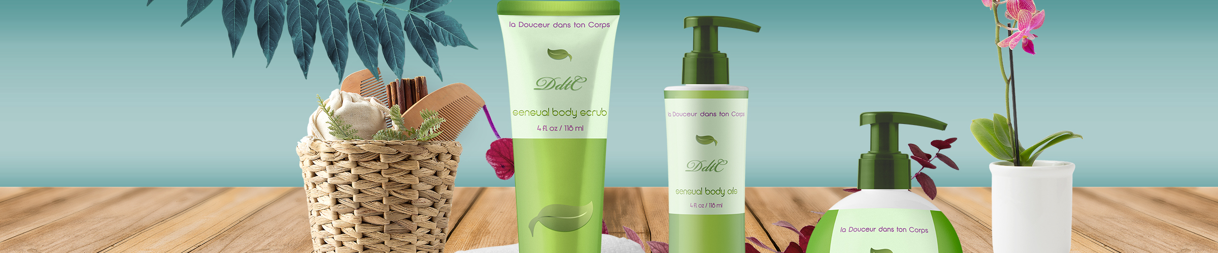 package design - skin products