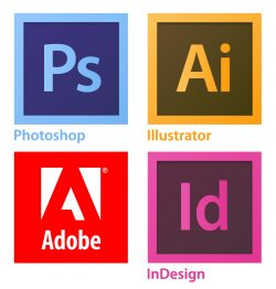 CP Creative Studio Learning logo featuring Adobe logos