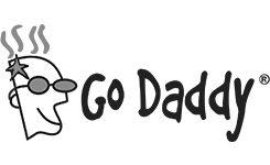 godaddy logos graphic design services, san rafael, marin county cp creative studio