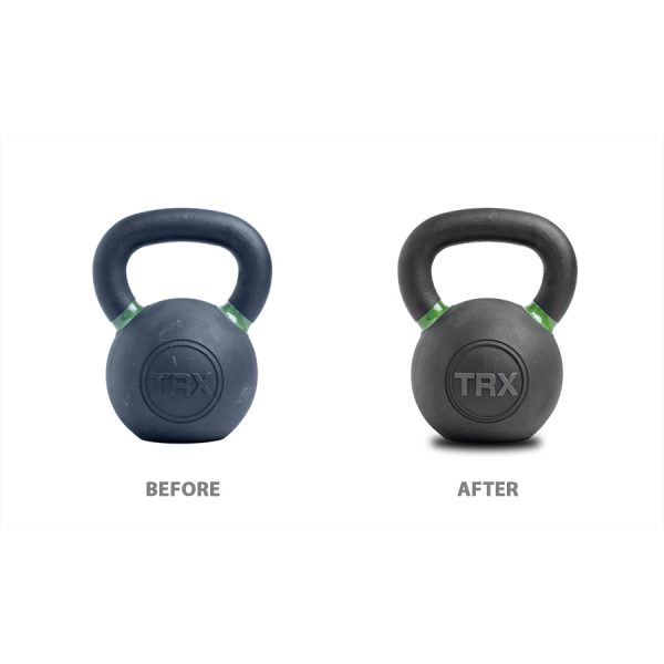 photo editing - before and after pictures of kettle bell