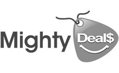 mighty deals logo graphic design services, san rafael, marin county cp creative studio