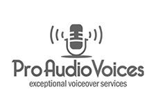 Pro Audio Voices graphic design services, san rafael, marin county cp creative studio