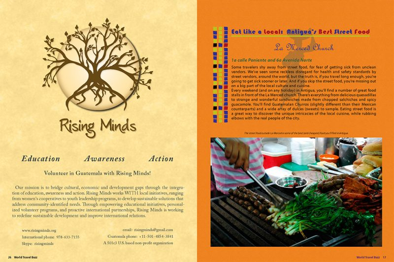 magazines page layout graphic design services, san rafael, marin county cp creative studio